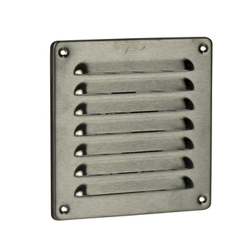 IVC Air schoepenrooster RVS 15,5x15,5 cm
