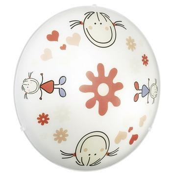 Eglo kinderlamp junior happy rood