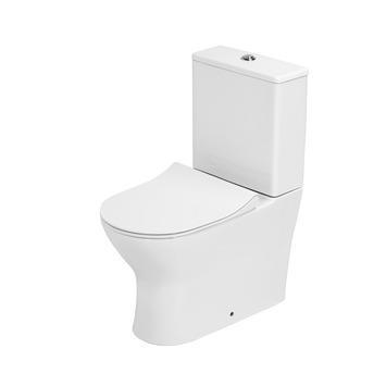 Newport toilet duoblok zonder spoelrand PK/muuraansluiting