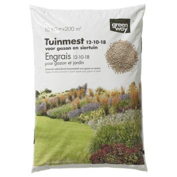 Greenway meststof alle planten 10kg