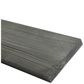 Steigerhout geborsteld antraciet 32x200 mm 250 cm
