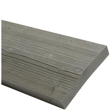 Steigerhout geborsteld grijs 32x200 mm 250 cm