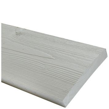 Steigerhout geborsteld zilver 32x200 mm 250 cm