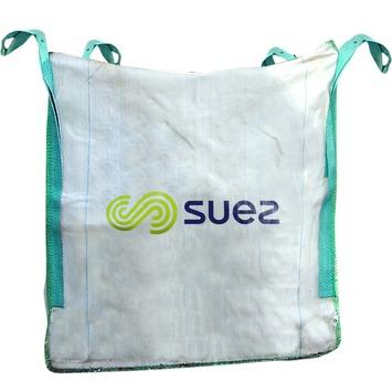 Suez Bulky bouwafvalzak wit 1m3