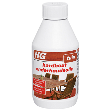 HG hardhout onderhoudsolie 0.25L