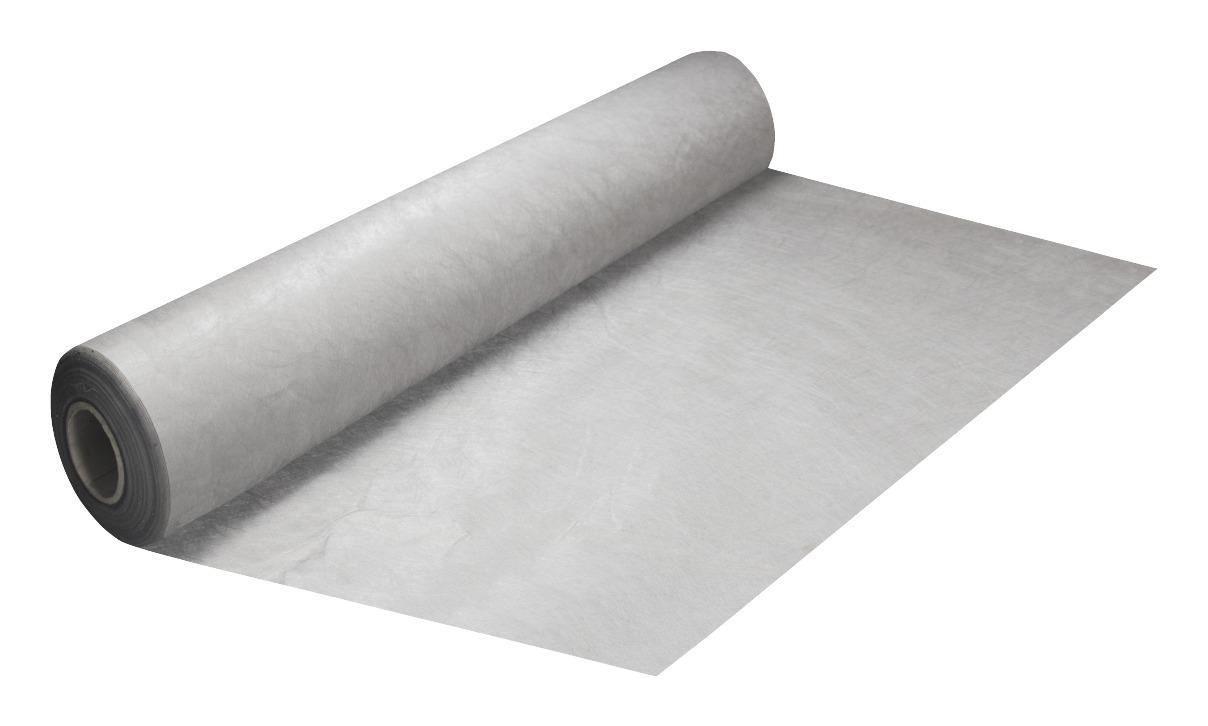 Nonwoven gronddoek - anti worteldoek 120 gr p/m² grijs 2 meter breed - per cm