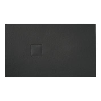 Van Marcke Krypton douchebak in polybeton steenimitatie graniet 140x90