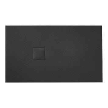Van Marcke Krypton douchebak in polybeton steenimitatie graniet 120x90
