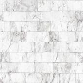 Vliesbehang Stenen muur wit 103924