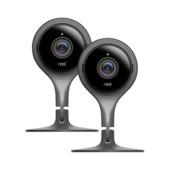 Google Nest Cam Beveiligingscamera Binnen 2 stuks