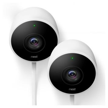 Google Nest Cam Beveiligingscamera Buiten 2 stuks