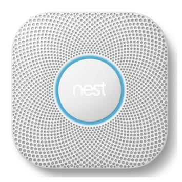 Google Nest Protect Rook- en Koolmonoxide Melder (CO) (2e Generatie) - Batterij Versie