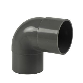 Martens bocht 90° grijs 1x lijmverbinding 50 x50 mm