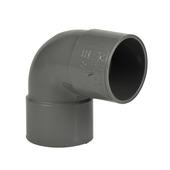 Martens bocht 90° PVC grijs 2x lijmverbinding 40x40 mm