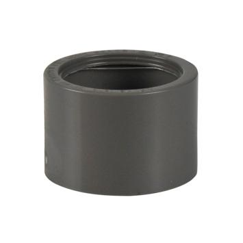 Martens verloopstuk PVC grijs 1x lijmverbinding 32x40 mm