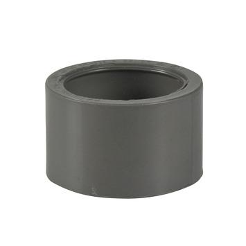 Martens verloopstuk PVC grijs 1x lijmverbinding 50x40 mm