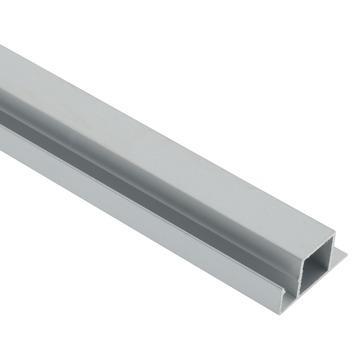 Screenlite horprofiel aluminium blank 120 cm