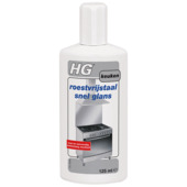 HG roestvrijstaal snelglans 125 ml
