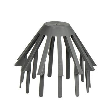 Martens bladbolrooster PVC grijs 60x75 mm