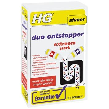 HG duo ontstopper 1 liter