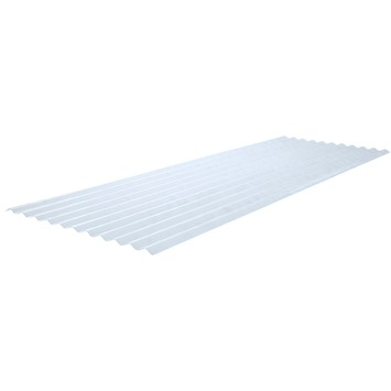 Martens golfplaat 76/18 polyester naturel 244x83 cm