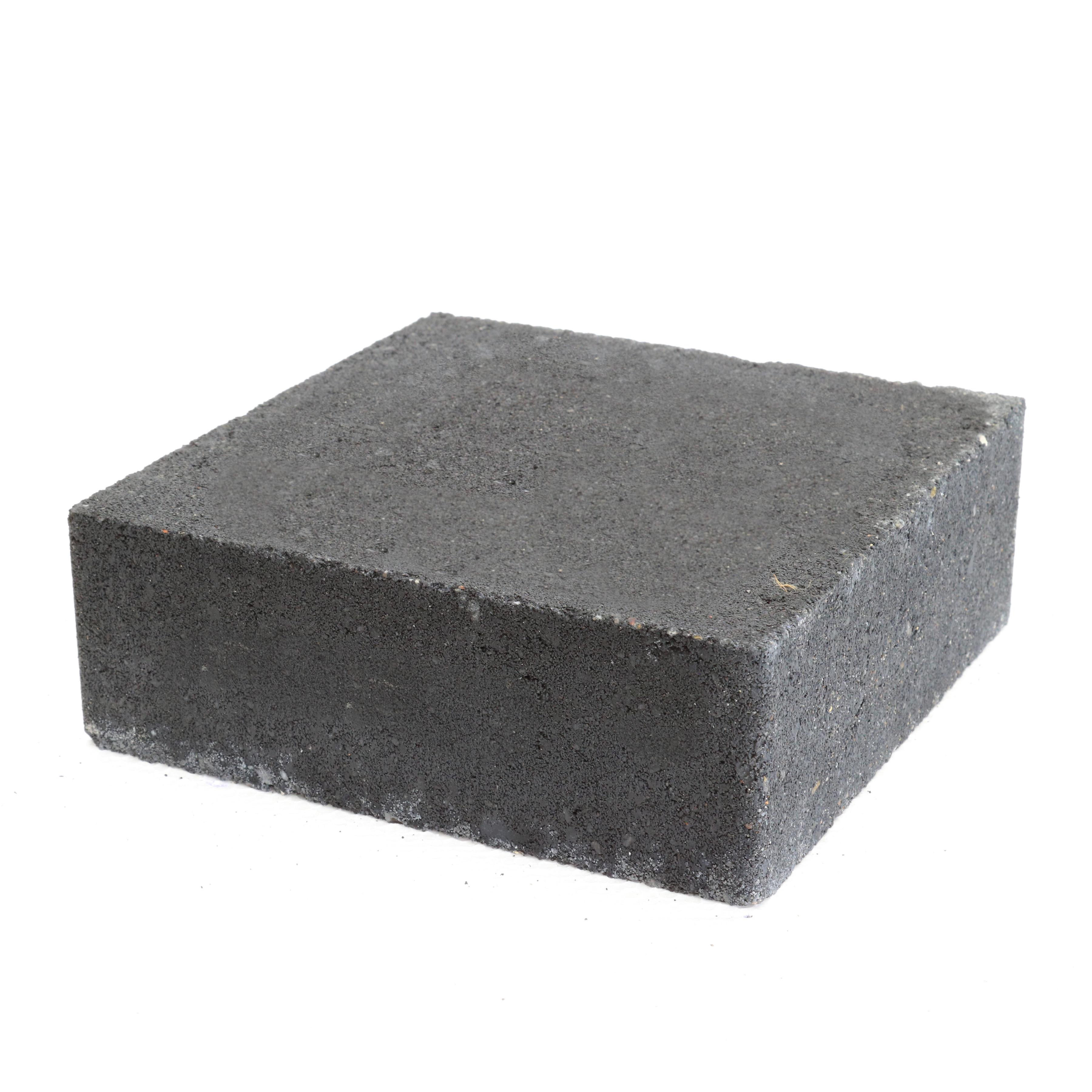 Trommelsteen Beton Plano Antraciet 21x21x7 cm - 162 Stuks - 6,48 m2