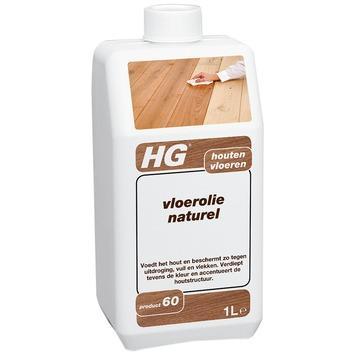 HG houten vloerolie naturel 1 liter