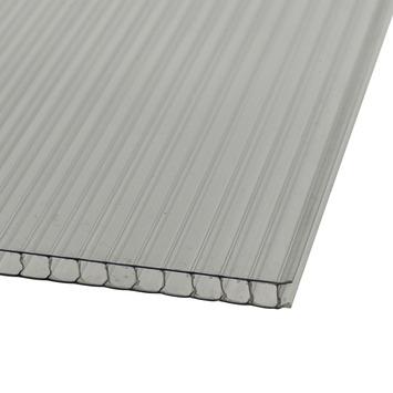 Martens polycarbonaatplaat dubbelwandig transparant 125x105 cm 6 mm