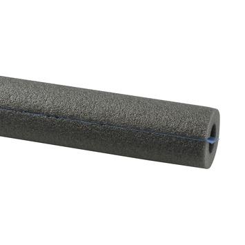 Buisisolatie voor 15 mm buis plakstrip grijs 1 meter