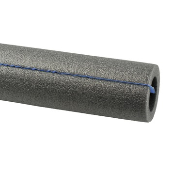 Buisisolatie voor 28 mm buis plakstrip grijs 1 meter