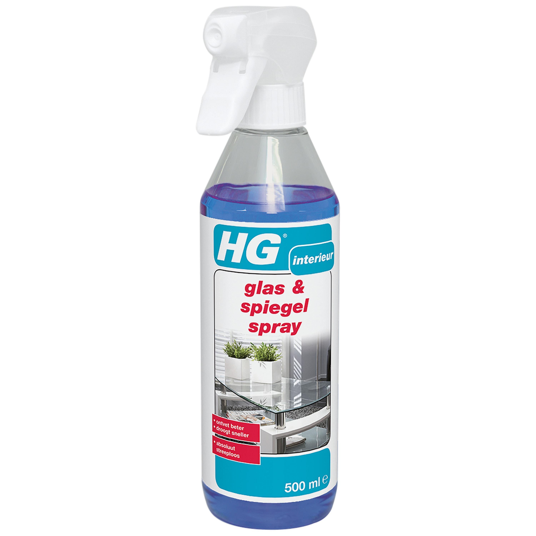 Hg Glas and Spiegelspray 500ml