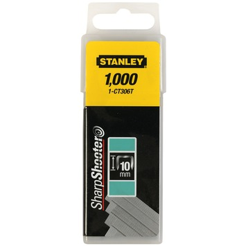 Stanley nieten 10 mm type CT 1000 ST