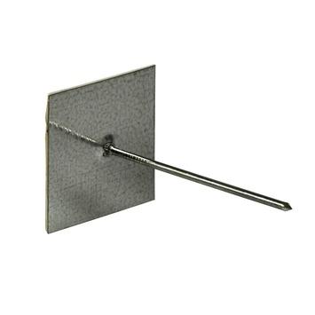 Isolatie bevestigingspennen zelfklevend zink inclusief rondellen 10 stuks