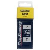 Stanley krammen 10 mm type 7 1000 stuks