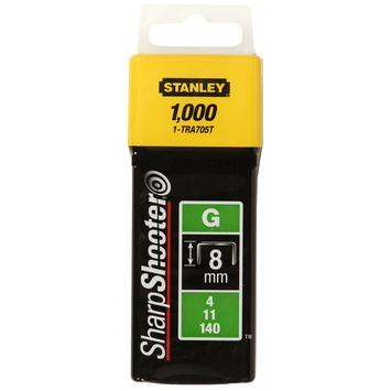Stanley nieten 8 mm type G 1000 stuks