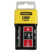 Stanley nieten 8 mm type A 1000 stuks