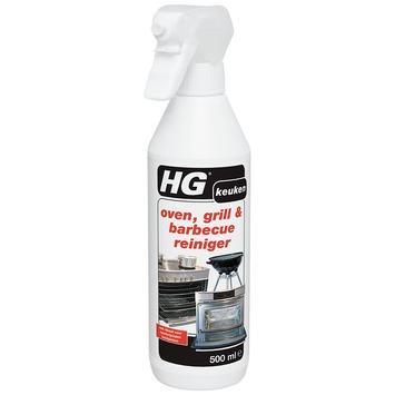 HG oven grill & bbqreiniger 500 ml