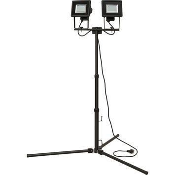 Brennenstuhl Statief LED straler duo 2x12W IP44