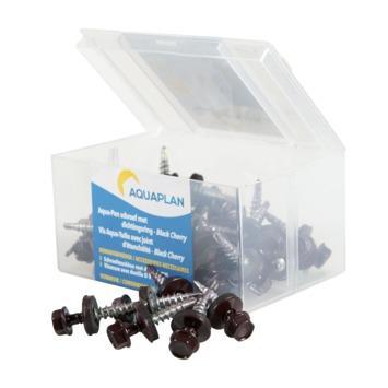 Aquaplan schroef aqua-pan ebena black cherry 40 stuks