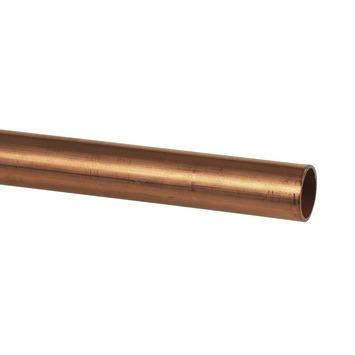 Buis Roodkoper Ø 15 mm x 3 Meter