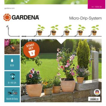 Gardena Micro Drip starterset terras/balkon