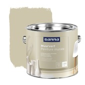 GAMMA muurverf mat nr. 176 Boekweit 2,5 liter
