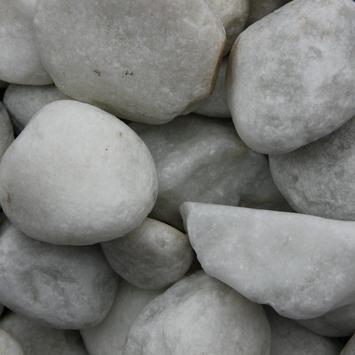 Grind Keien Carrara Wit 40-80 mm - Per Zak á 20 kg