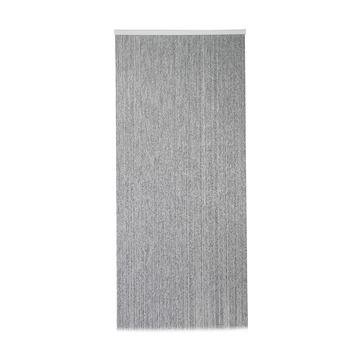 Mestic deurgordijn Cord zwart/grijs 230x100cm