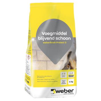 Weber finish protect 3 voegmiddel wit 4kg