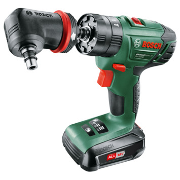 Bosch accuklopboormachine AdvancedImpact 18 volt 2 accu's
