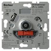 Berker Inbouw Dimmer LED/Gloei/Halogeen