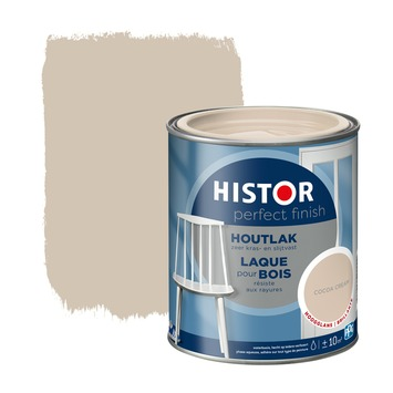 Histor Perfect Finish houtlak cocoa cream hoogglans 750 ml