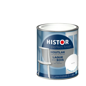 Histor Perfect Finish houtlak 7000 wit zijdeglans 750 ml