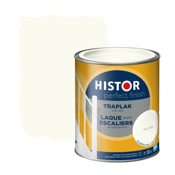 Histor Perfect Finish traplak anti-slip RAL 9010 zijdeglans 750 ml